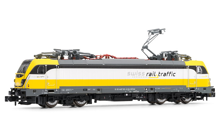 Swiss Rail Traffic TRAXX Rem 487 001, SRT