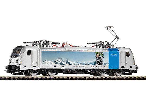 E-Lok BR 187 Railpool/bls Wechselstromversion