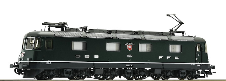 Elektrolokomotive Re 6/6 11662, SBB