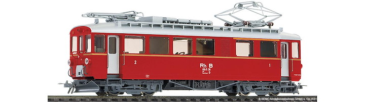 RhB ABe 4/4 36 Berninatriebwagen