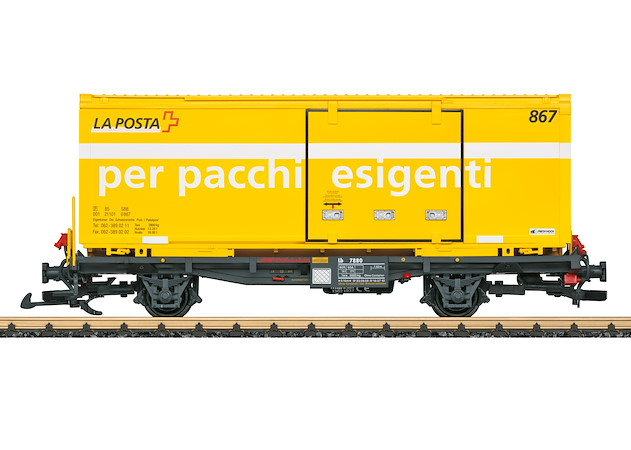 RhB Containertragwagen