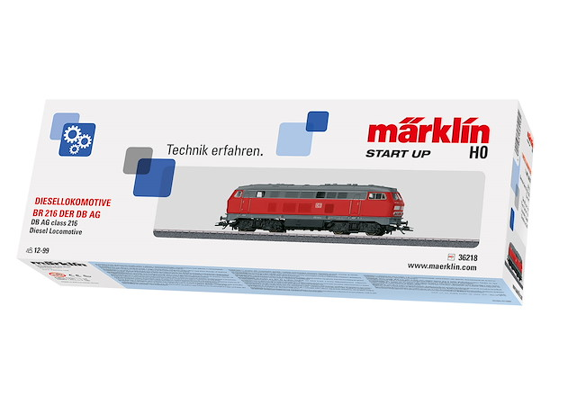 Märklin Start up - Diesellokomotive BR 216, DB
