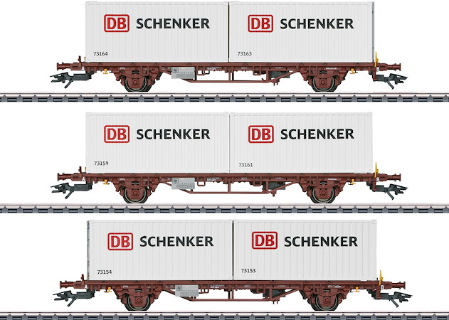 Container-Tragwagen-Set Lgs, DB