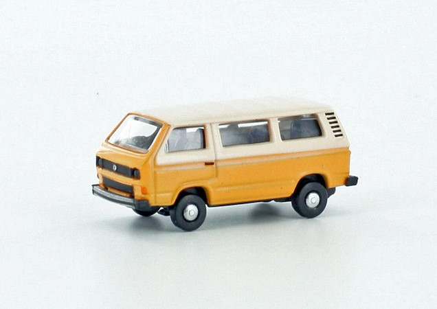 VW T3 orange-weiss
