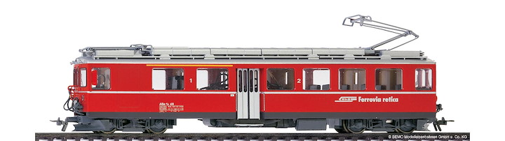 RhB ABe 4/4 48 Berninatriebwagen digital