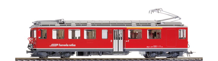 RhB ABe 4/4 47 Berninatriebwagen mit Sound