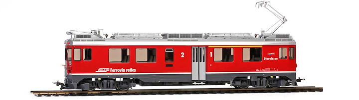 RhB ABe 4/4 55 'Diavolezza' Berninatriebwagen mit Sound