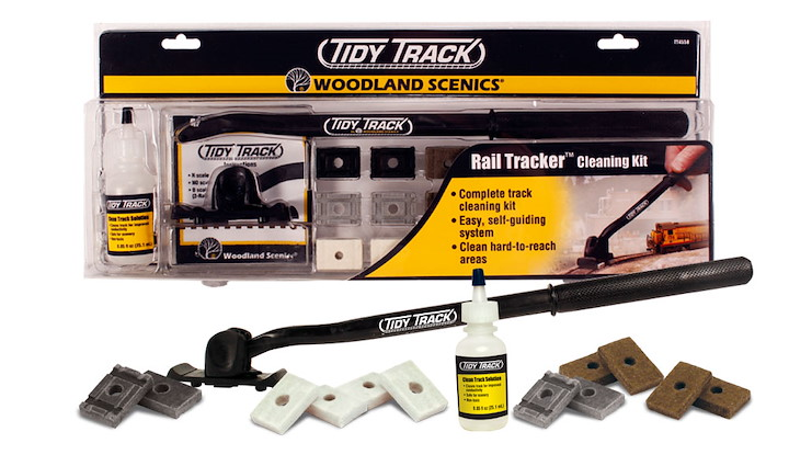 Rail Tracker Cleaning Kit (N & HO Scale)