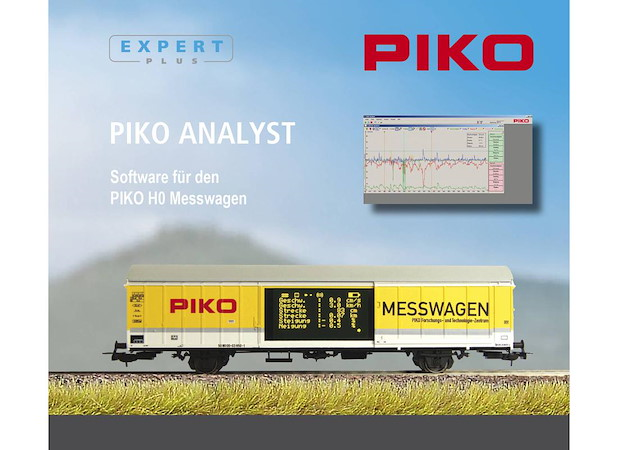 Software für PIKO H0 Messwagen 55050 (CD-ROM)