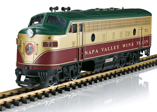 Napa Valley Wine Train Diesellok
