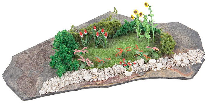 Do-it-yourself Mini-Diorama Garten