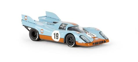 Porsche 917K 19 Gulf-Team, 2. in LeMans 1971,