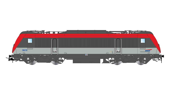 SNCF, BB 36031, green livery, original, ep. V