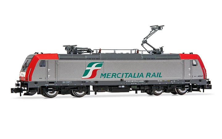 FS, E.483 Mercitaila Rail, with DCC decoder