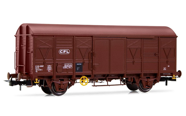 CFL, 2-axle Gs wagon, brown