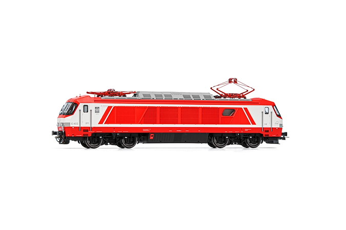 FS, E.402A original red/white livery