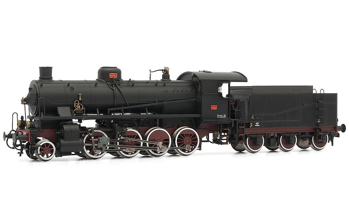 Steam Lok Gr. 740 306 with 3-axle tender FS