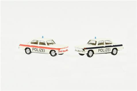 Set Kantonspolizei Solothurn mit 2 BMW 2000
