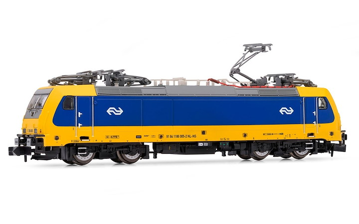 NS, electric locomotive E 186 005-2, Decoder