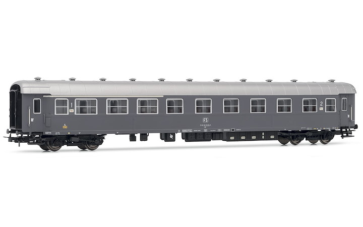 FS Personenwagen Typ 59 Typ grau international