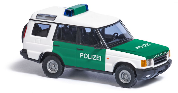 Land Rover Discovery, Polizei