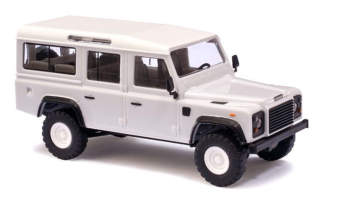 Land Rover Defender »Weiss«