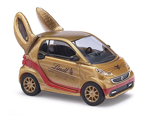Smart Fortwo 2012 »Lindt«, Goldhase