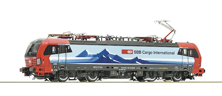 Elektrolokomotive BR 193, SBB Cargo International