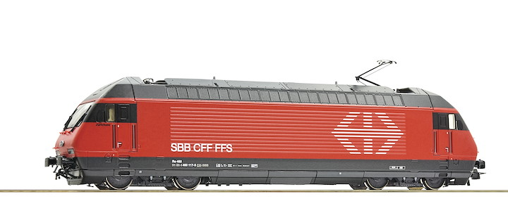 Elektrolokomotive Re 460, SBB