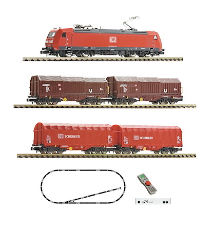 z21®start Digitalset: Elektrolokomotive BR 185.1 mit Güterzug, DB AG