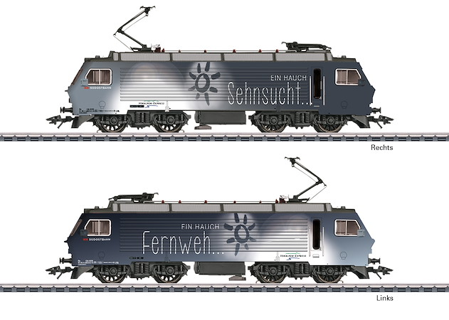 Elektrolokomotive Serie Re 4/4 IV, SOB