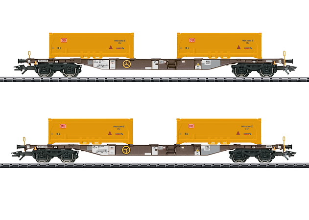 Containertragwagen-Set