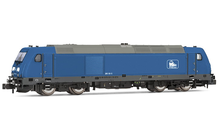 Press Diesellok BR 285 blau DC-Sound Ep. VI
