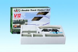 2-gleisig Viadukt-NBS Kato 7077007