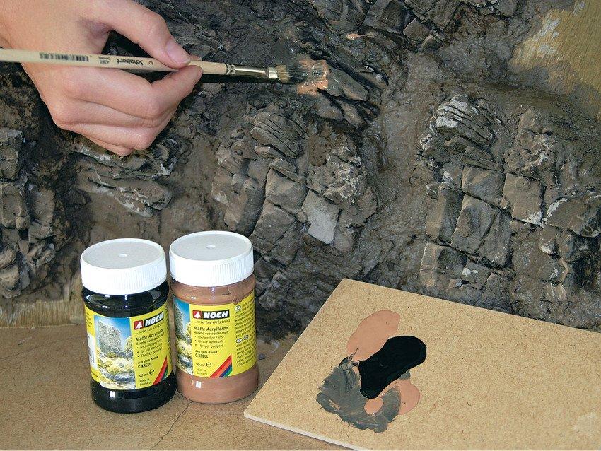 Noch 58451 Struktur Felsstücke Granit