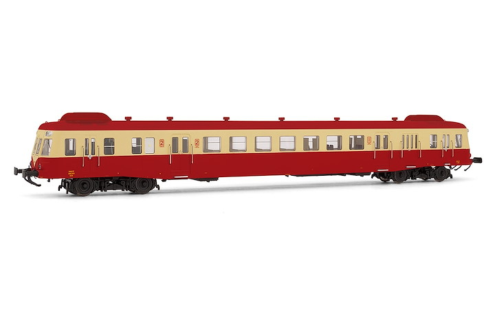 SNCF D-Triebwg. X2474 Limoges beige/rot Ep.IV DCS