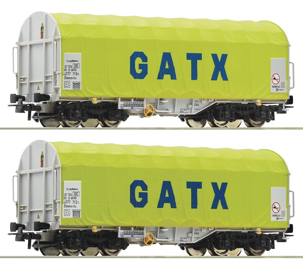 Roco 76477 Güterwagen Schiebeplanenwagen CFL Cargo H0